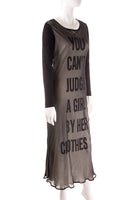 """You Can't Judge A Girl By Her Clothes"" Dress"