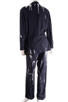 Paint Splatter Top and Pant Set
