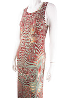 Tattoo Print Dress