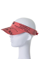 Newspaper Print Visor