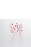 Transparent Heart Cuff