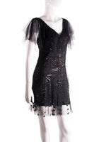Sequin Beaded Dress