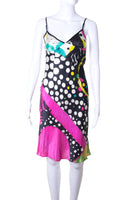 John Galliano Silk Polka Dot Dress - irvrsbl