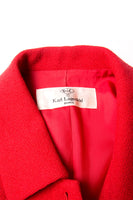 Karl LagerfeldRed Wool Blazer- irvrsbl