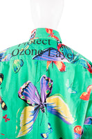 "Moschino""Protect The Ozone Layer"" Shirt- irvrsbl"