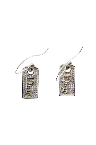 Dog Tag Earrings