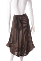 Pleated Lantern Skirt
