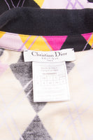 Christian DiorArgyle Print Dress- irvrsbl