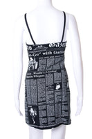 John GallianoGazette Print Dress- irvrsbl
