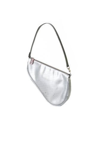Metallic Saddle Bag