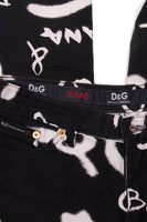Dolce and Gabbana Graffiti Print Jeans - irvrsbl