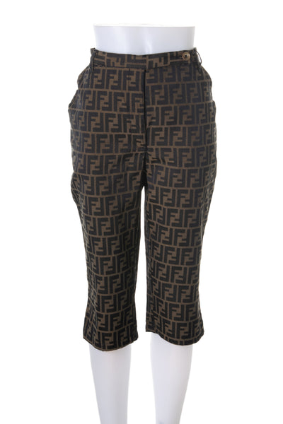 Monogram Capri Pants