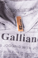 John Galliano Gazette Tshirt - irvrsbl