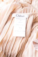 Chloe by Karl Lagerfeld Pleated Dress - irvrsbl