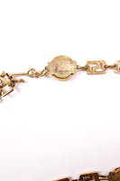 VersaceGreek Key Chain Belt- irvrsbl