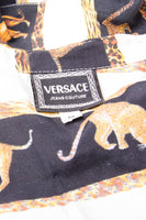 VersaceLion and Tiger Print Shirt- irvrsbl