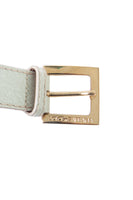 Dolce and GabbanaLettering Belt- irvrsbl