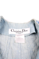 Christian DiorLace Up Denim Jacket- irvrsbl