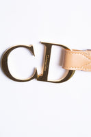 Christian DiorCD Monogram Belt- irvrsbl