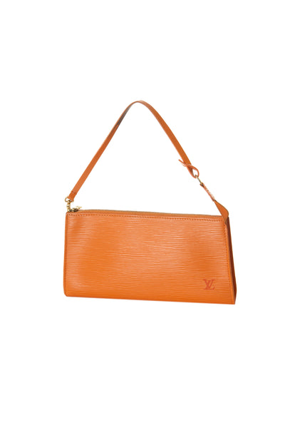 Louis Vuitton Epi Pochette in Orange - irvrsbl