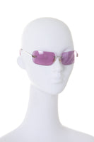 Y2K Sunglasses in Purple