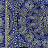 Paisley - Royal Blue & Ivory
