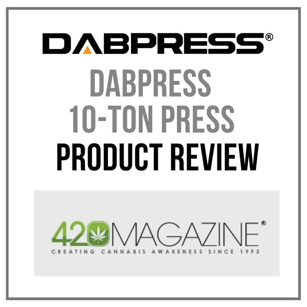 10 Ton Rosin Press Machine - Product Review on 420magazine.com