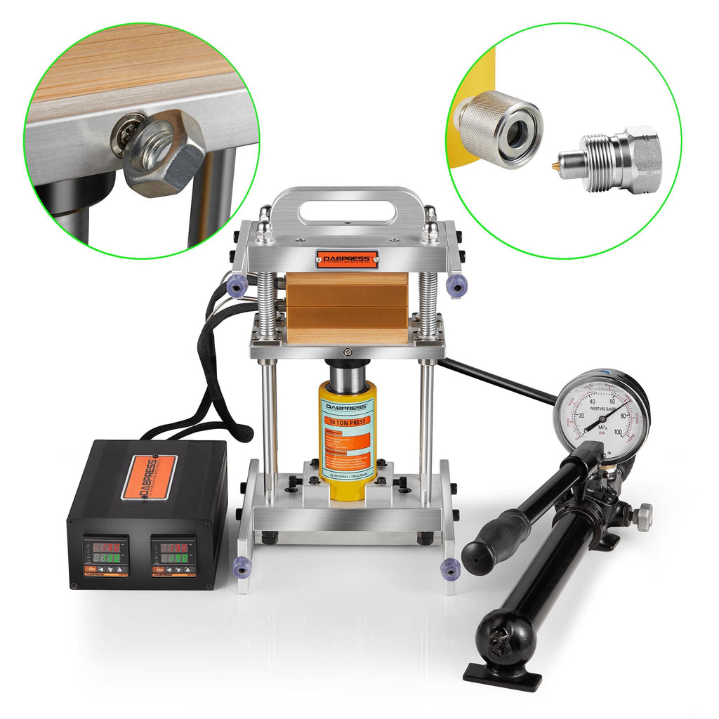 Hydraulic Cylinder Styled Rosin Press  - User Manual & Troubleshooting