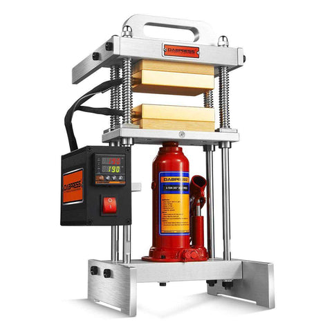 4 Ton Best Starter Rosin Press - 7-10g Materials Loaded - Upgrade from 3-Ton 3x3 Rosin Heated Platens