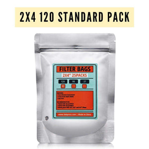 "Best Rosin Bags for Weed Flower - 2x4"" 120 Micron Extraction Filters"