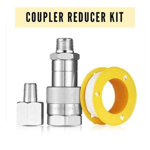 3 8 NPT Coupler Reducer Kit Rosin Press Dabpress