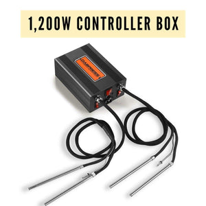 Digital Temp Controller Box - Accurate Temp Delivered for Pressing Wax