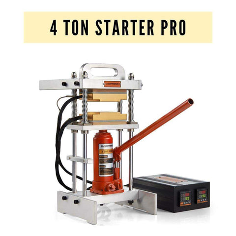 Bottle Jack Rosin Press - 4-Ton Hydraulic Wax Pressing Machine