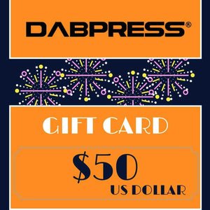 Rosin Pressing Gift Card