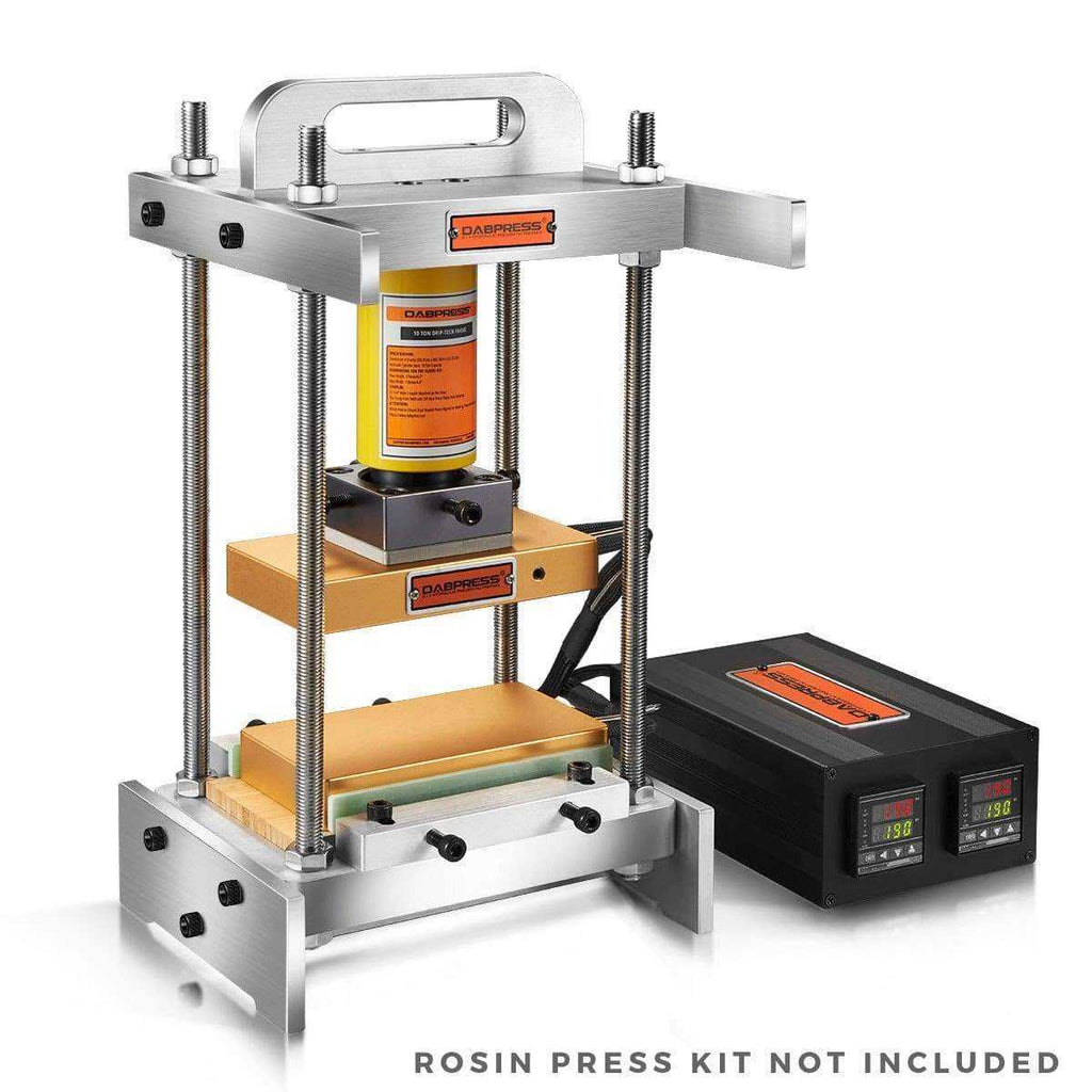 Build-driptech-4x7-rosin-press-plates-kit-with-10-ton-frame