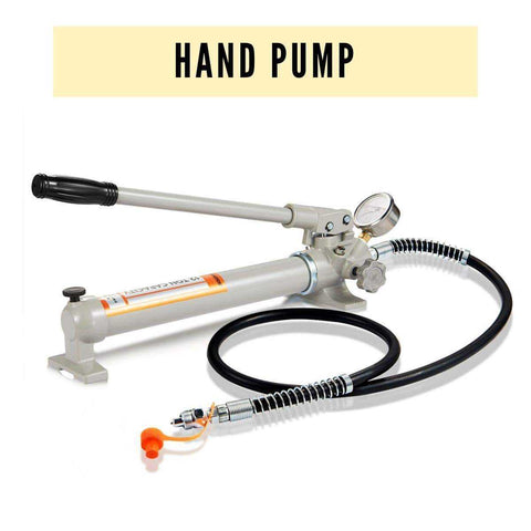 10, 12 Ton Hydraulic Hand Pump for Kief, Wax, Hash Extraction Press