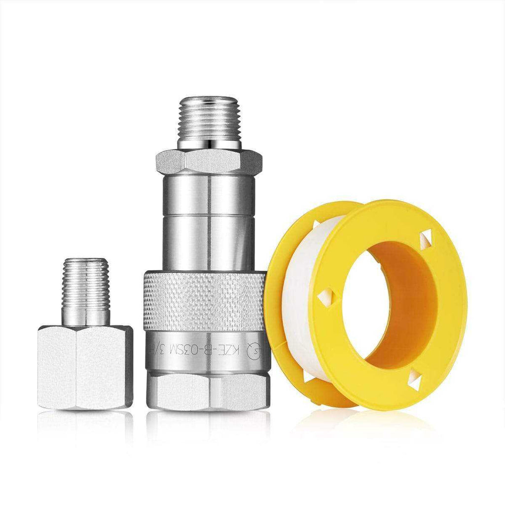 Coupler Fittings for Hydraulic Hand Pump for Rosin Nug Pressing