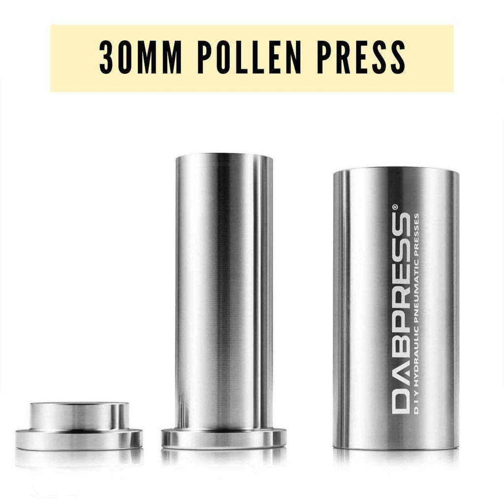 Pollen Press to Increase Rosin Yield In the Process of Wax, Kief Extraction