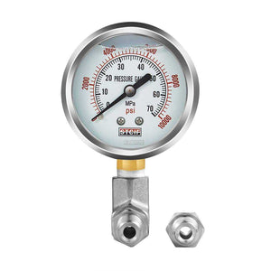 Best Pressure Gauge Kit to Porta Power, Strongway Pump - DIY Hydraulic Hand Pump