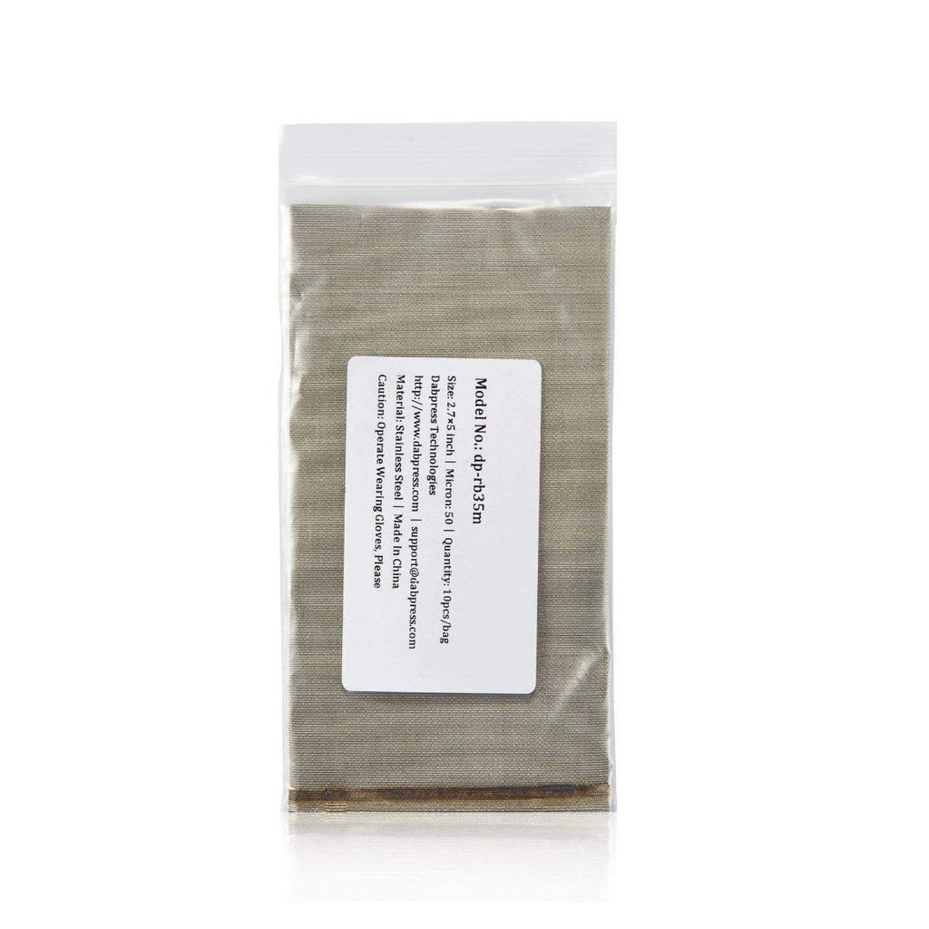 Stainless Steel Rosin Bags - 37 Micron Mesh Rosin Filter Bags