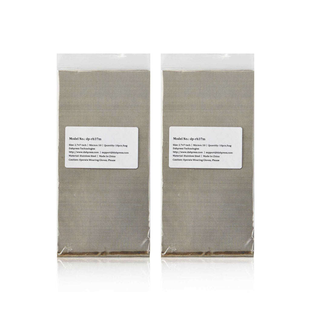 Rosin Bags for Buds 115-micron Filters - Made of Stainless Steel Mesh