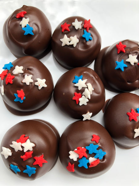 stars and stripes bites for July 4th