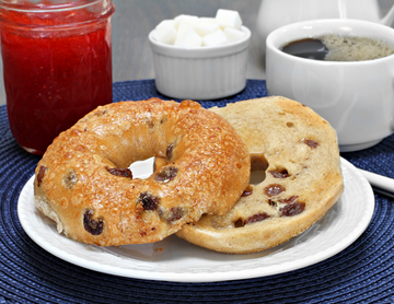 Cinnamon Raisin Bagel (3 Packs of 4)