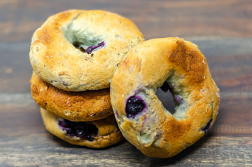 Blueberry Bagel (3 Packs of 4)