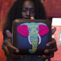 Elephant Clutch Bag