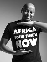 TShirt Africa Your Time is now