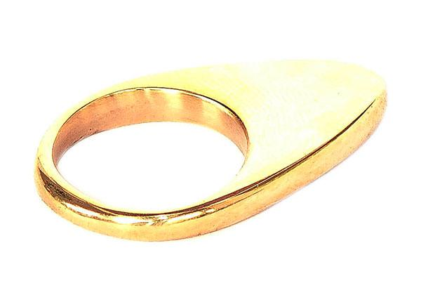 Aminia Brass ring