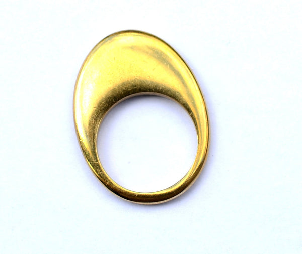 Flatie Brass Rings