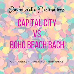 CAPITAL CITY VS. BOHO BEACH BASH