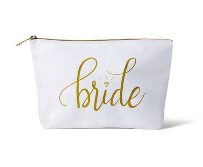 Bride Canvas Makeup Bag